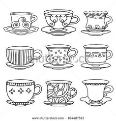 tea drawing - Pesquisa do Google