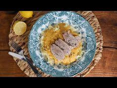 Készítsétek el a különlegesen finom sertéssültet vadas mártással. Videón mutatjuk a részleteket. Camembert Cheese, Grains, Dairy, Rice, Eggs, Lunch, Breakfast, Desserts, Food