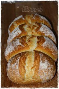 Ticino breakfast bread 160 g water 60 g milk 10 g yeast 3 m . - Ticino breakfast bread 160 g water 60 g milk 10 g yeast 3 400 g flour 1 teaspo - Bread Bun, Pan Bread, Bread Rolls, German Bread, German Baking, Savoury Baking, Bread Baking, Pampered Chef, Croissants