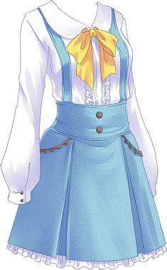 Seems like Alice in Wonderland dress