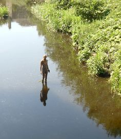 Anthony Gormley - Water of Leith, Edinburgh