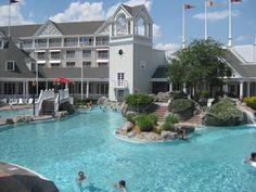 Disney Beach and Yacht Club..the pool has a sand bottom!