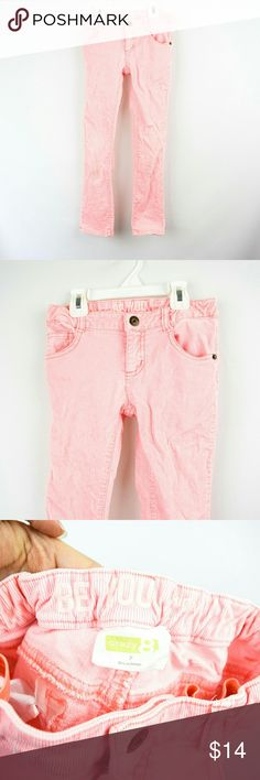 Crazy 8 Faded Neon Pink Skinny Jeans Size 7 KIDS Faded neon pink jeans. Adjustable waist. Skinny fit. Size 7 kids. Some wear on knees. Regular wear but in good condition. Open to offers. Bundle to save! Crazy 8 Bottoms Jeans
