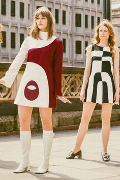 fashion history for women. A return to youth, shocking colors, shorter hemlines, pop art and the hippie movement. What did women wear? Decades Fashion, Fashion Through The Decades, 60s And 70s Fashion, 70s Inspired Fashion, Vintage Fashion, 1960s Fashion Hippie, 1960s Fashion Dress, 1960s Inspired, Look Retro