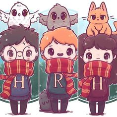20 Adorable Enchanting Illustrations by Harry Potter- # Adorable . - 20 Adorable Enchanting Illustrations by Harry Potter- # Adorable # charming # - Harry Potter Tumblr, Harry Potter World, Fanart Harry Potter, Harry Potter Kawaii, Estilo Harry Potter, Arte Do Harry Potter, Cute Harry Potter, Theme Harry Potter, Harry Potter Wallpaper