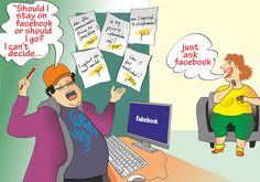 Wie vertrauenswürdig ist Facebook. Ich glaube es kommt aus der Mode....