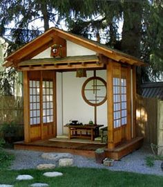 Pinterest the world s catalog of ideas for Japanese garden shed