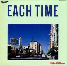 スノー・レコード・ブログ: 大滝詠一 / OHTAKI, EIICHI - each time - 28AH1555