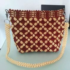 3976 Best macrame images in 2020 Macrame Bag, Macrame Knots, Macrame Jewelry, Macrame Chairs, Bracelet Knots, Macrame Design, Macrame Patterns, Crochet Accessories, Diy And Crafts