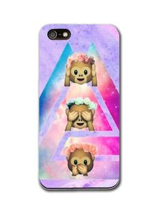 Cute Monkeys Space phone case