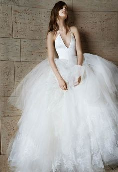 Vera Wang Spring 2015 #wedding #dress #weddingdress | The Knot Blog