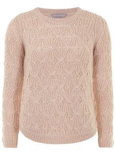 Petite pink stitch jumper - Sweaters  - Clothing