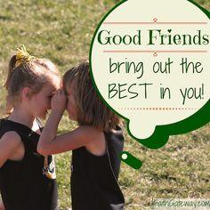 What Is a Good Friend? - FaithGateway