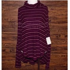 FREE PEOPLE Pullover Sweater Intricate Rugged TopNWT.  Size: Various