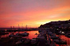 Sunset at Puerto Rico, Gran Canaria