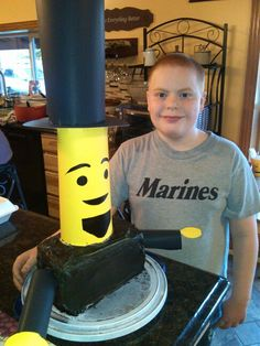 Lego Abraham Lincoln cake and my Holden