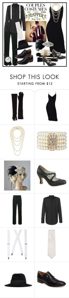 """""""Scaary Cute: Couples Costumes"""" by terryandjim ❤ liked on Polyvore featuring Marcus Adler, Michael Kors, Chanel, Pinup Couture, Raf Simons, Versace, Wembley, Armani Collezioni, Undercover and Johnston & Murphy"""