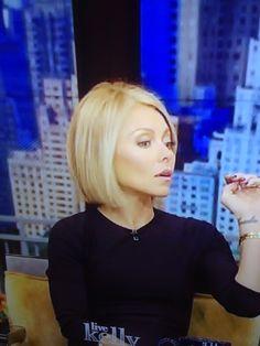 Kelly Rippa bob!- LIKE THE UNIFORM AND CLEAN LOOK-TELL KEN WANG THIS