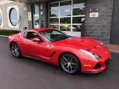 Nueva #Ferrari F12 SP America en #NuevaYork #autos #coches #carros