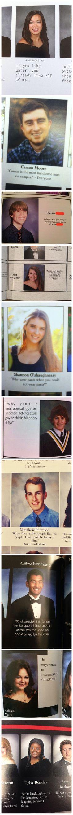 Senior quotes.