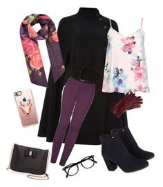 """""""Floral winter"""" by solia-horn on Polyvore featuring Carolina Herrera, Ted Baker, Dorothy Perkins, 2LUV, Monsoon, Mark & Graham and Casetify"""