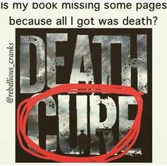 If you agree with this post, you are missing the ENTIRE POINT of the book. As we see with Newt(cries) death WAS the cure to the flare in itself. Dying was a way to escape this disease and be at peace with your insane mind. Thank you and goodnight.