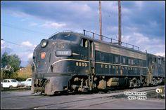 Pennsylvania Railroad, Covered Wagon, Locomotive, Diesel, Train, Photos, Vintage, Trains, Diesel Fuel
