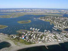 Winthrop, Boston Aerial View.