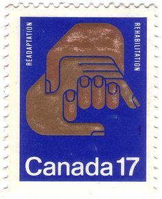 vintage stamp.