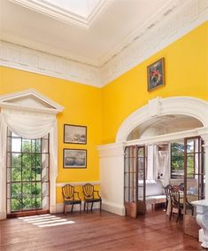 The Dining Room of Monticello, with the Tea Room adjacent.  Photo: Thomas Jefferson Foundation.    In recognition of the upcoming Thomas ...