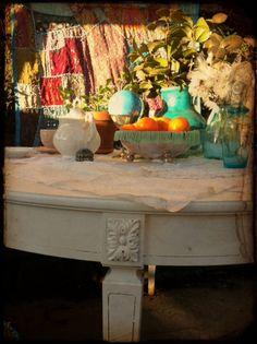 bohemian wedding furniture..