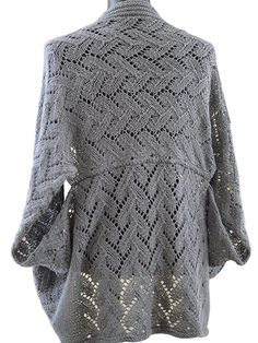 "This sophisticated and elegant cardigan will keep you warm and stylish all winter long! The name Calida is of Greek and Spanish origin meaning ""most beautiful,"" which perfectly describes this finished project. Knit with 876 (1,022, 1,314) y..."