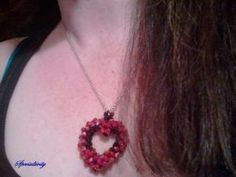 Crystal Heart Pendant | specialtivity - Jewelry on ArtFire