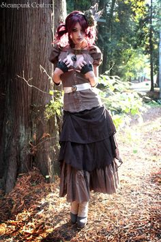 Autumn Stroll Steampunk Outfit #2