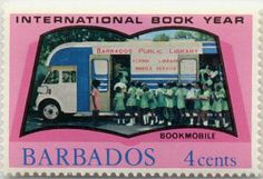 Bookmobile, Barbados Public Library, 1972.