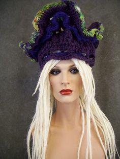 OOAK Freeform Crochet Dreadiwrap for dreadlocks/ by UniquelyEwe, $65.00