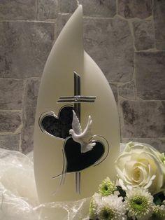 Hochzeitskerze von Creativ-Card auf DaWanda.com
