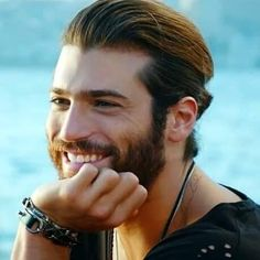 Can Yaman Turkish Men, Turkish Actors, Beautiful Boys, Gorgeous Men, Perfect Smile, Beard Lover, Linkin Park, Best Actor, The Dreamers