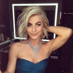 Julianne Hough looks stunning for the 10th Anniversary Dancing With the Stars Celebration