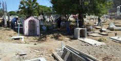 Rehabilita Obras Públicas panteones de Tecate