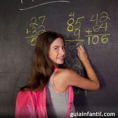Te enseñamos un truco de cálculo mental para sumar de forma más rápida. Se trata de un truco de matemáticas ideal para enseñar a los niños a sumar de forma ágil.