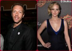 Not that it really matters but it seems Chris Martin is dating Jennifer Lawrence. WTF