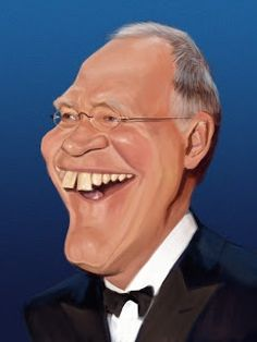 David Letterman (Caricature) Dunway Enterprises - http://www.learn-to-draw.org/caricatures_clb.html?hop=dunway
