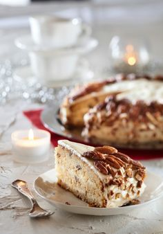 Pekaanipähkinä-kookoskakku | K-Ruoka #amerikanherkut
