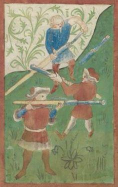 Kriegstechnik (Bilderhandschrift) Oberrhein · um 1420-1440 Ms. Rh. hist. 33b  Folio 113v