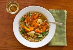 Moroccan vegetable soup- good idea, though it sounds like it needs more oomph