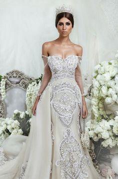 Dar Sara Wedding Dresses 2014...More beautiful Bling
