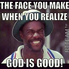 Amen!! God is good, All the time!!