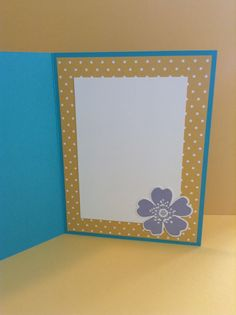 Inside of afternoon picnic card