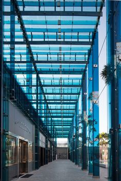 New Builds in Miami: Sou Fujimoto's Palm Court, City View Garage, Faena House | Project: Palm Court. Firm: Sou Fujimoto. Location: Miami, Florida. #interiordesignmagazine #design #interiors #projects #retail